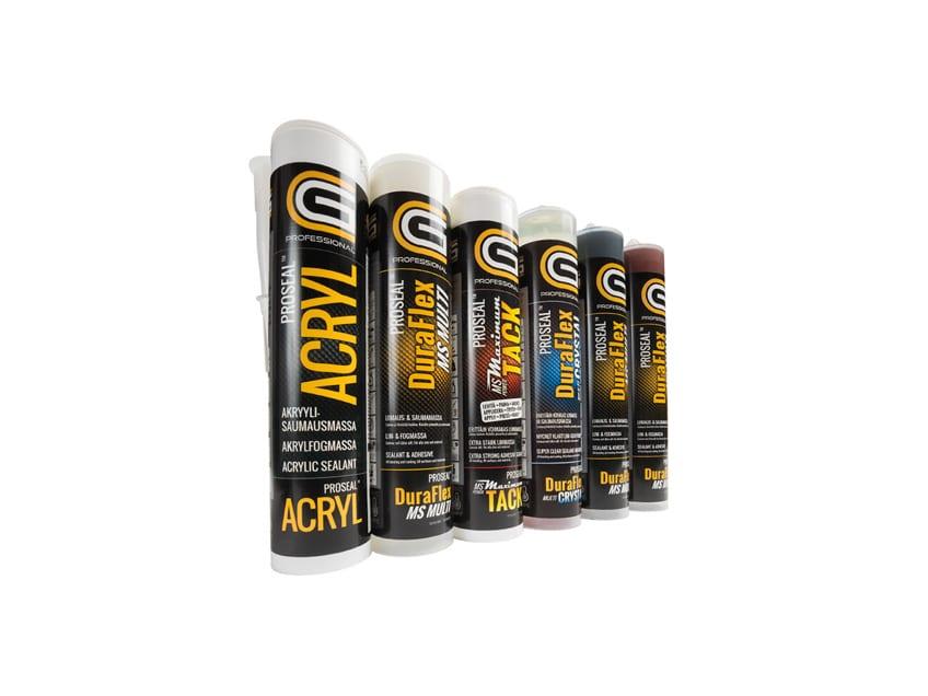 Proseal-tuotesarjan etikettien suunnittelu, CG Professional