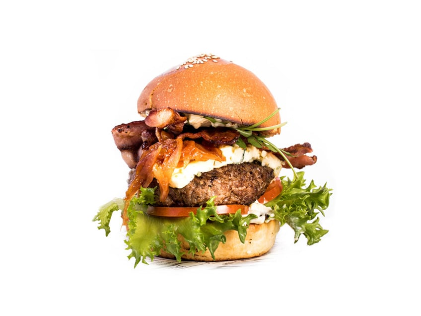 Aurajuustoburgeri, Cafe Rooster